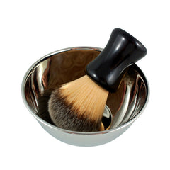 RazoRock Polished Stainless Steel Shaving Bowl - (For Kits - CSKB) - RazoRock - ItalianBarber.com - 1