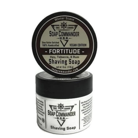 Soap Commander Shaving Soap - Fortitude-Soap Commander-ItalianBarber