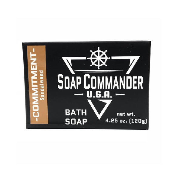 Soap Commander Bath Bar Soap - Commitment-Soap Commander-ItalianBarber