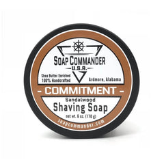 Soap Commander Shaving Soap - Commitment-Soap Commander-ItalianBarber