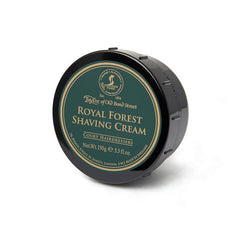 Taylor of Old Bond Street Shaving Cream Bowl, Royal Forest 150g-Taylor of Old Bond Street-ItalianBarber