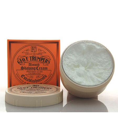 Geo F Trumper Almond Soft Shaving Cream Screw Thread Pot 200g-Geo F Trumper-ItalianBarber