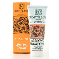 Geo F Trumper Almond Soft Shaving Cream Travel Tube 75g - Geo F Trumper - ItalianBarber.com