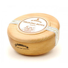D.R. Harris Almond Shaving Soap in Beech Wood Bowl - D.R. Harris - ItalianBarber.com