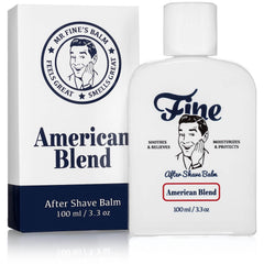 Fine Alcohol-Free Aftershave Balm - American Blend