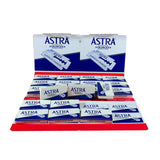 (Blue Pack) 100 Astra Superior Stainless Double Edge Razor Blades - Blue Pack-Astra Blades-ItalianBarber