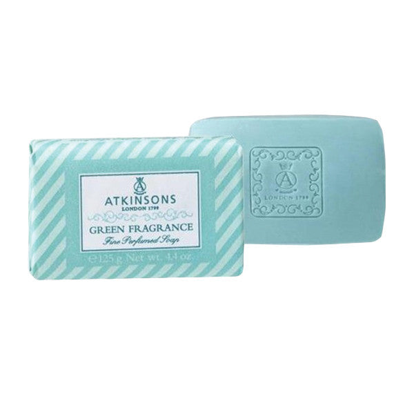 Atkinsons Green Fragrance Bar Soap-Atkinsons - I Coloniali-ItalianBarber