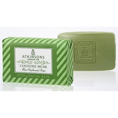 Atkinsons Country Musk Bar Soap - Atkinsons - I Coloniali - ItalianBarber.com