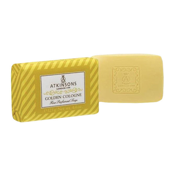 Atkinsons Golden Cologne Bar Soap-Atkinsons - I Coloniali-ItalianBarber