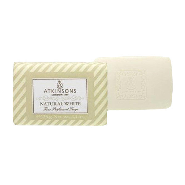 Atkinsons Natural White Bar Soap-Atkinsons - I Coloniali-ItalianBarber