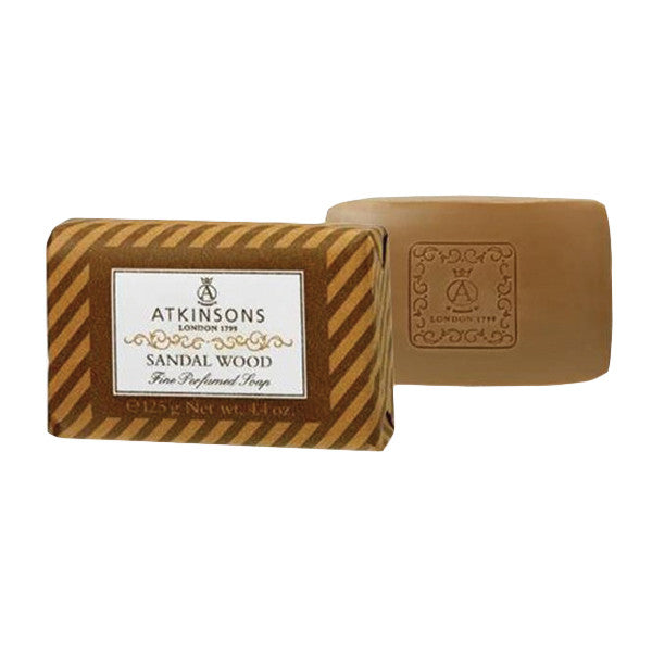 Atkinsons Sandalwood Bar Soap - Atkinsons - I Coloniali - ItalianBarber.com