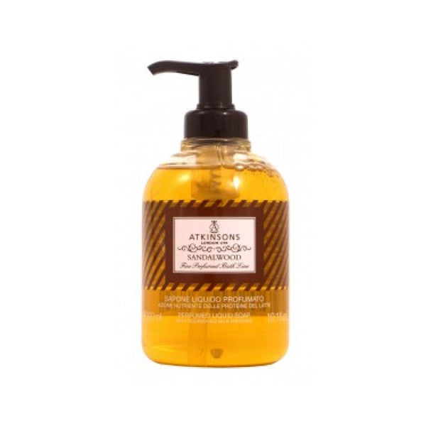 Atkinsons Sandalwood Liquid Soap-Atkinsons - I Coloniali-ItalianBarber