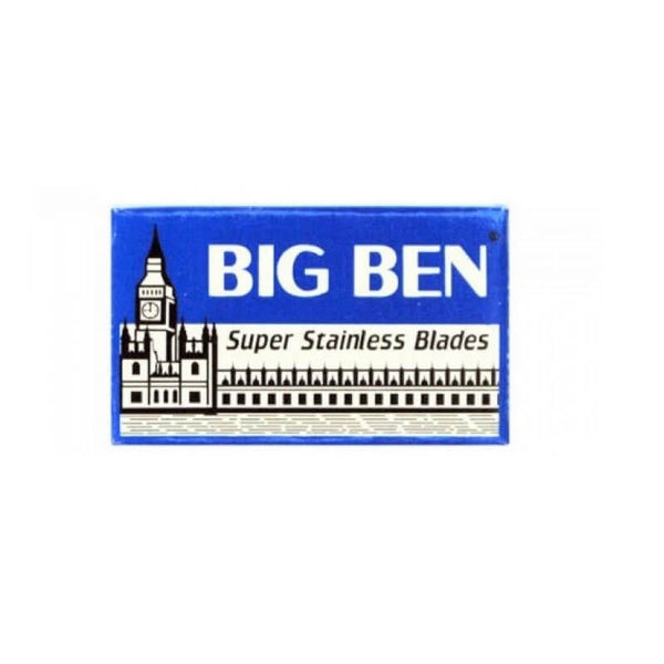 10 Big Ben Super Stainless DE Blade, 1 pack of 10 (10 blades)-Big Ben-ItalianBarber