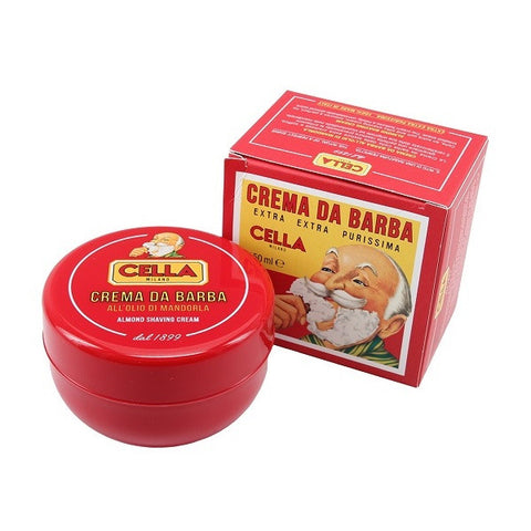 Cella Shave Cream 150g- (For Kits - CSKB) - Cella - ItalianBarber.com - 1