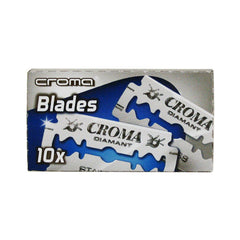 50 Croma Diamant DE Blades, 5 packs of 10 (50 blades)-Croma-ItalianBarber