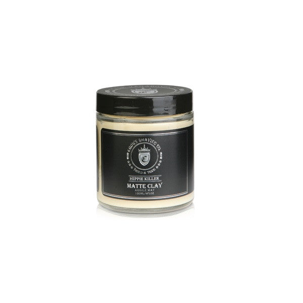 Crown Shaving Co. Hippie Killer Matte Styling Clay - Crown Shaving Co. - ItalianBarber.com