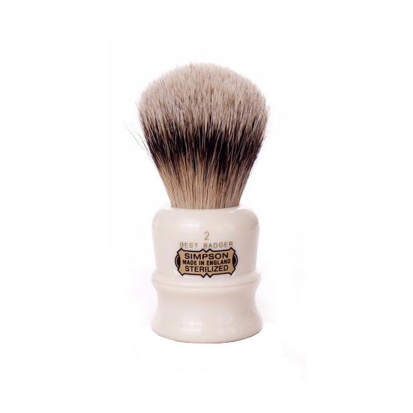 Simpsons Duke D2 Best Badger Shaving Brush-Simpsons-ItalianBarber