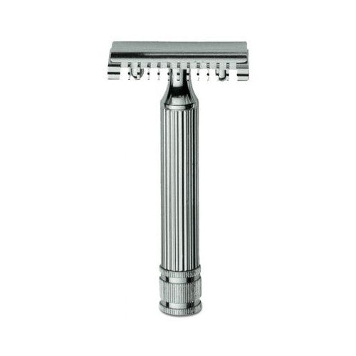 Fatip Grande Double Edge Safety Razor - Chrome - Fatip - ItalianBarber.com