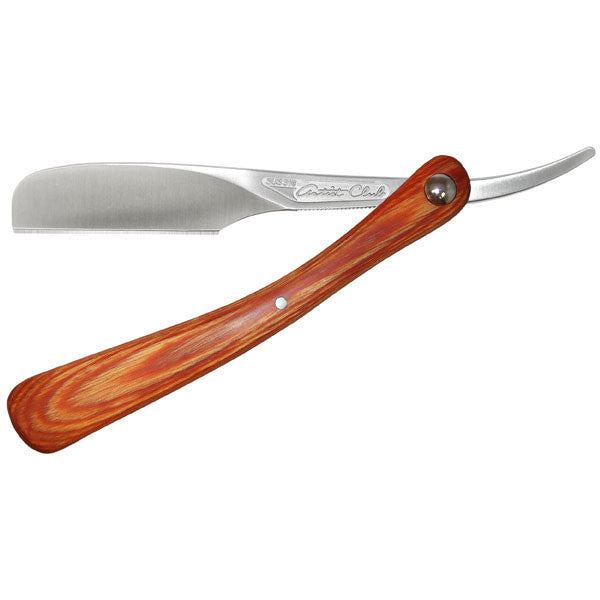 Feather Artist Club DX Folding Teak Wood Handle-Feather-ItalianBarber