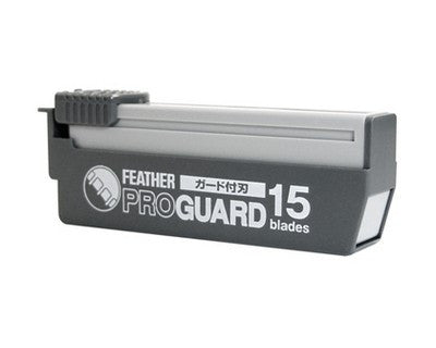 Feather Artist Club Pro Guard Blades 15 Pack - Feather - ItalianBarber.com - 2