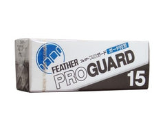 Feather Artist Club Pro Guard Blades 15 Pack - Feather - ItalianBarber.com - 1