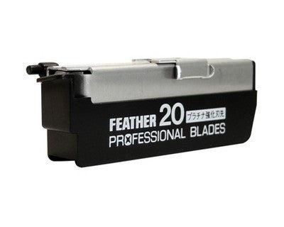Feather Artist Club Professional Blades 20 Pack - Feather - ItalianBarber.com - 2