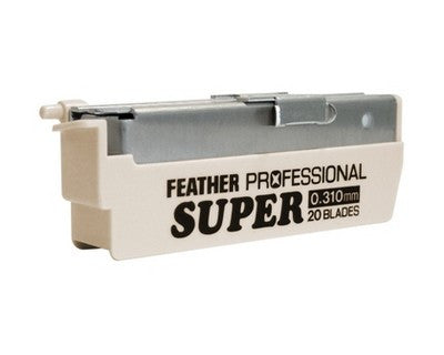 Feather Artist Club Super Blades 20 Pack - Feather - ItalianBarber.com - 2