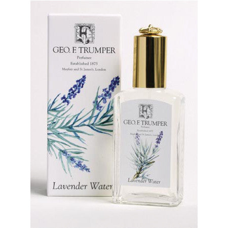 Geo F Trumper Lavender Water EDT Glass crown top bottle 100ml-Geo F Trumper-ItalianBarber