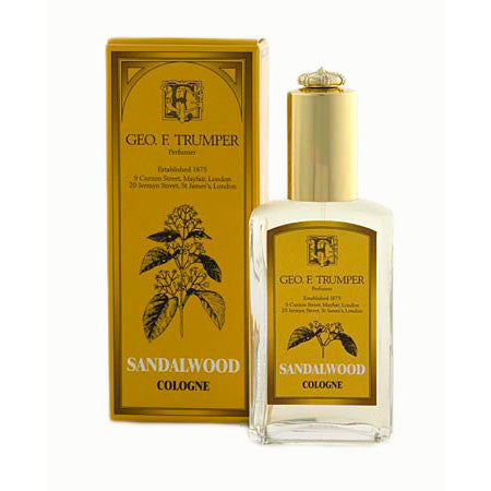 Geo F Trumper Sandalwood Cologne Glass Atomiser Bottle 50ml-Geo F Trumper-ItalianBarber