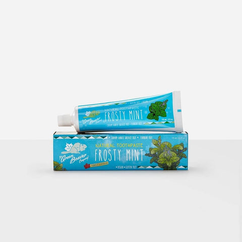Green Beaver All-Natural, Fluoride-Free Toothpaste-Green Beaver-ItalianBarber