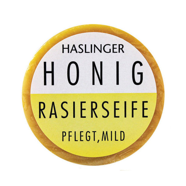Haslinger Honey Shaving Soap-Haslinger-ItalianBarber