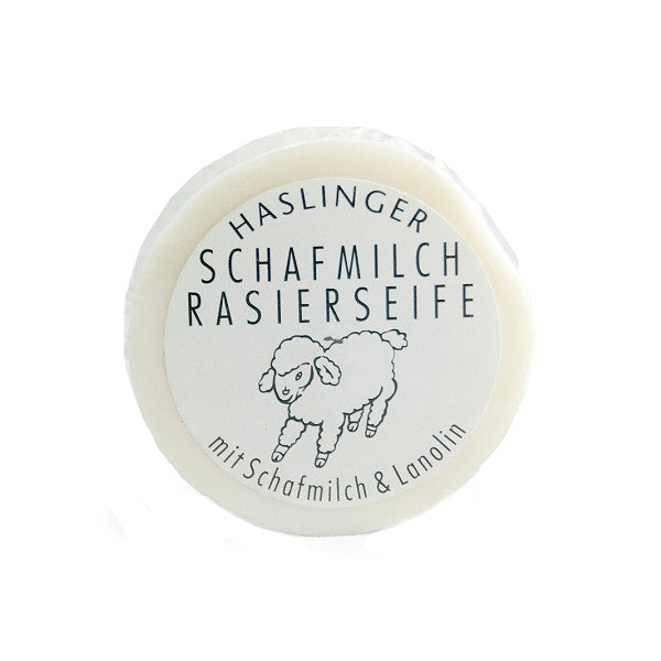 Haslinger Schafmilch Shaving Soap with Sheep Milk and Lanolin-Haslinger-ItalianBarber