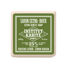 Institut Karité Paris Extra Gentle Cream Soap, Vervaine Lemon - Institut Karite Paris - ItalianBarber.com