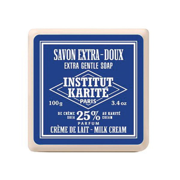 Institut Karité Paris Extra Gentle Cream Soap, Milk Cream-Institut Karite Paris-ItalianBarber