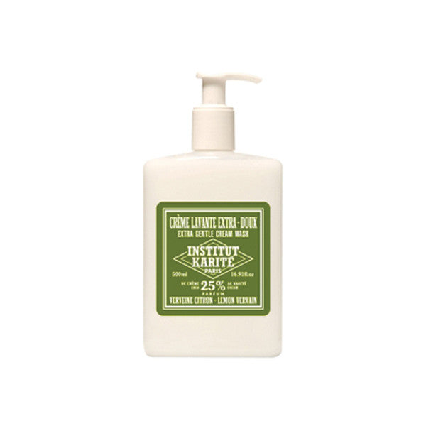 Institut Karité Paris Extra Gentle Cream Wash, Vervaine Lemon - Institut Karite Paris - ItalianBarber.com