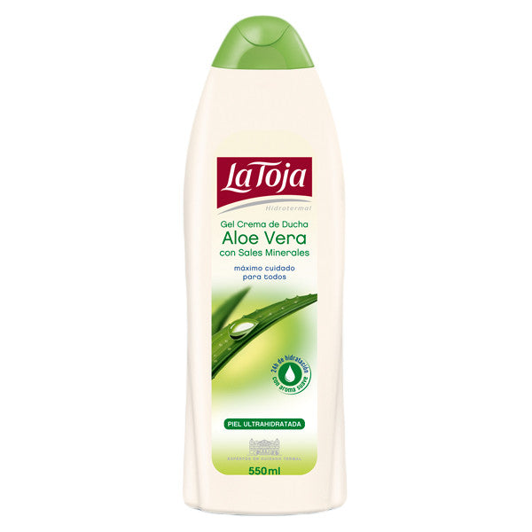 La Toja Aloe Vera Bath And Shower Gel with Mineral Salts-La Toja-ItalianBarber