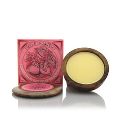 Geo F Trumper Extract of Limes Hard Shaving Soap Wooden Bowl 80g - Geo F Trumper - ItalianBarber.com