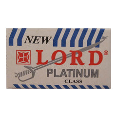 200 Lord Platinum DE Blade, 40 packs of 5 (200 blades)-Lord-ItalianBarber