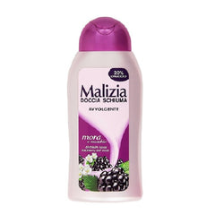 "Malizia Shower Foam ""Musk&Blackberry"" Doccia Mora&Muschio 300ml-Malizia-ItalianBarber"