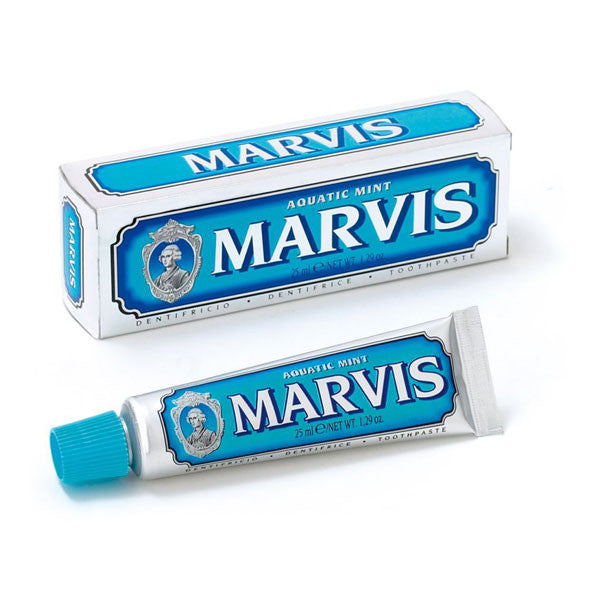 Marvis Toothpaste - Aquatic Mint 25 ml Travel Size-Marvis-ItalianBarber