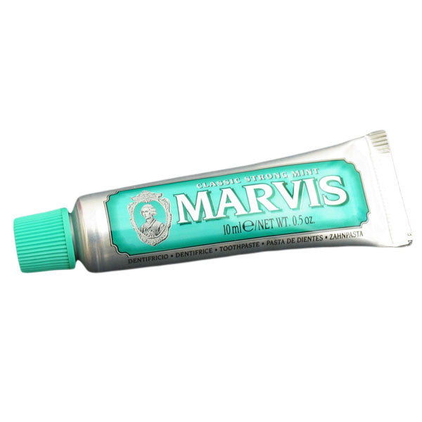 Marvis Toothpaste - Classic Strong Mint 10 ml Trial Size - Marvis - ItalianBarber.com