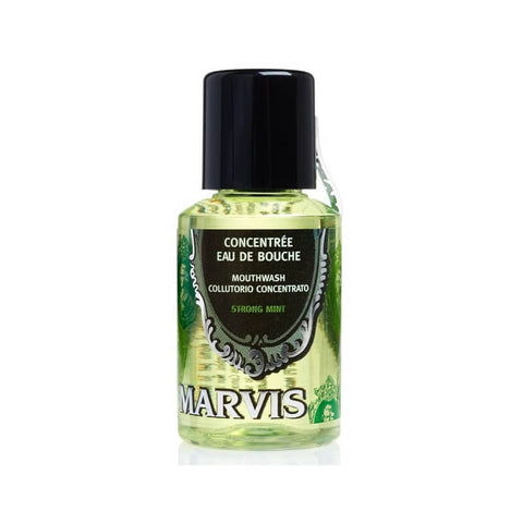 Marvis Mouthwash Concentrate - Strong Mint - TRAVEL SIZE - 30ml-Marvis-ItalianBarber