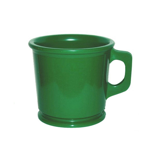William Marvy Rubber Shaving Mug - Green Colour - William Marvy - ItalianBarber.com