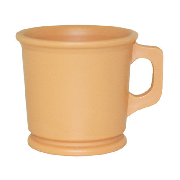 William Marvy Plastic Shaving Mug - Sandalwood Colour-William Marvy-ItalianBarber