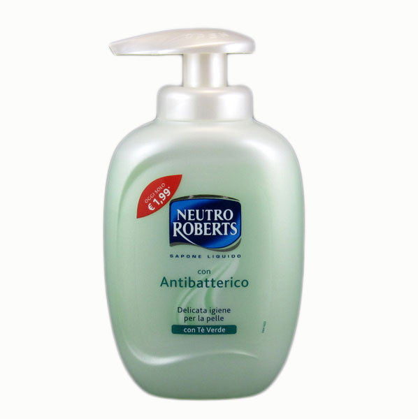 Neutro Roberts Green Tea Antibacterial Liquid Hand Soap 300ml-Neutro Roberts-ItalianBarber