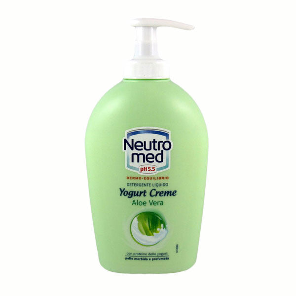 Neutromed Aloe Liquid Hand Soap 250ml-Neutromed-ItalianBarber