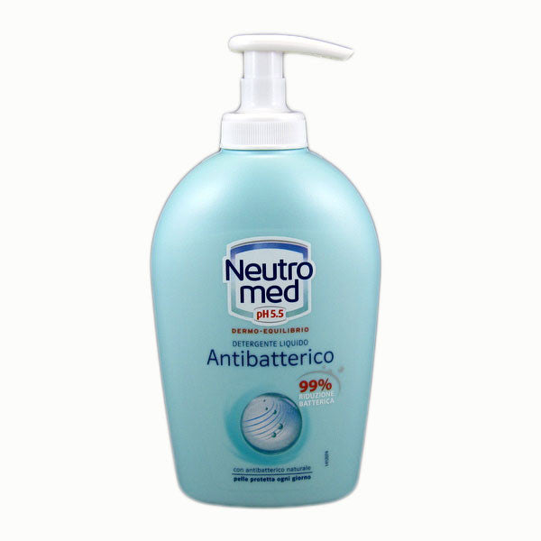 Neutromed Antibacterial Liquid Hand Soap 250ml-Neutromed-ItalianBarber