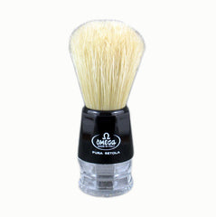 Omega 10019 - 100% Boar Bristle Shaving Brush - Omega - ItalianBarber.com