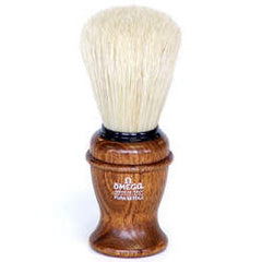 Omega 11137 - 100% Boar Bristle Shaving Brush - Omega - ItalianBarber.com
