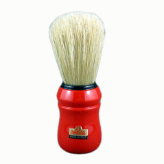 Omega 10049 - 100% Boar Bristle Shaving Brush - RED - Omega - ItalianBarber.com